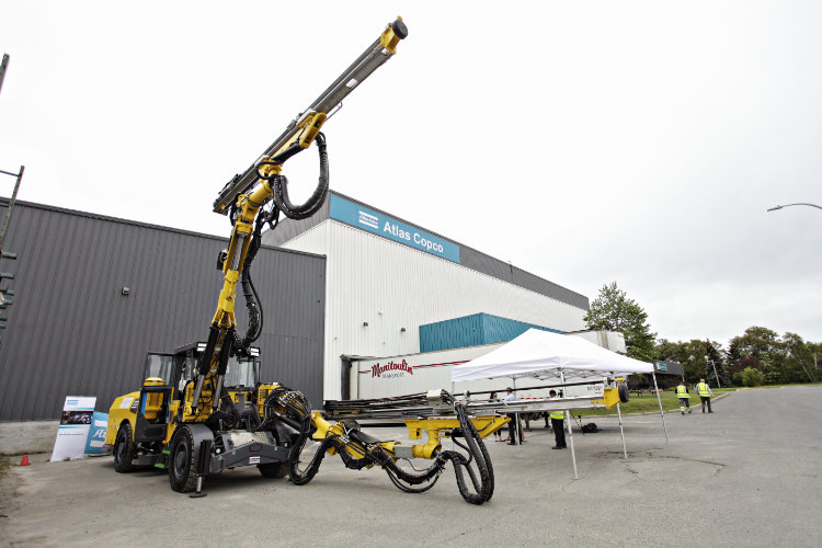 Atlas Copco Battery Launch