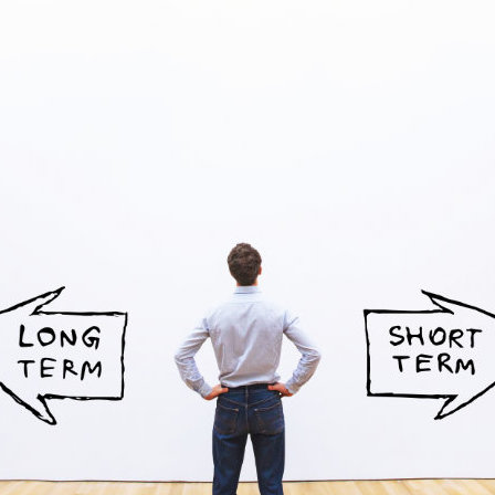 long term vs short term
