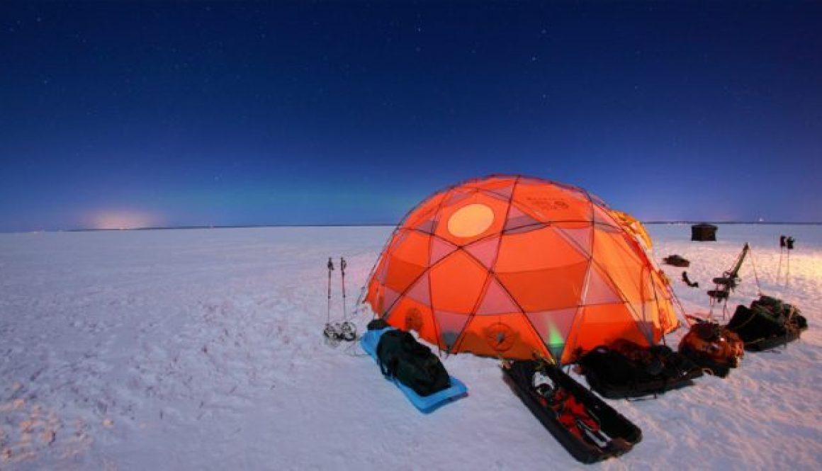 Snow Tenting