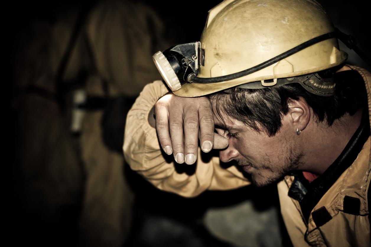 Tired Miner