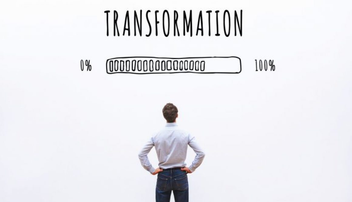 transformation business concept