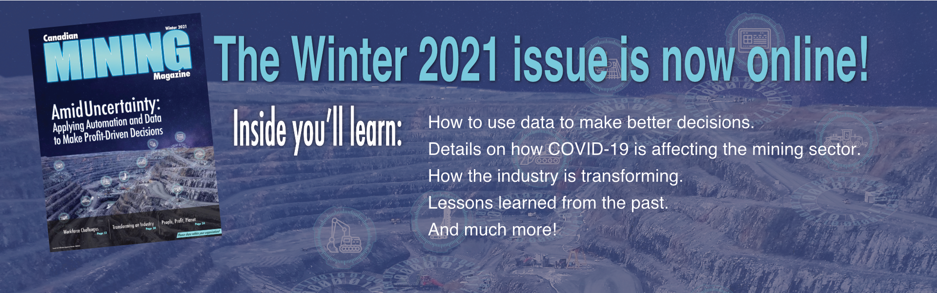 Check out the Winter 2021 issue!