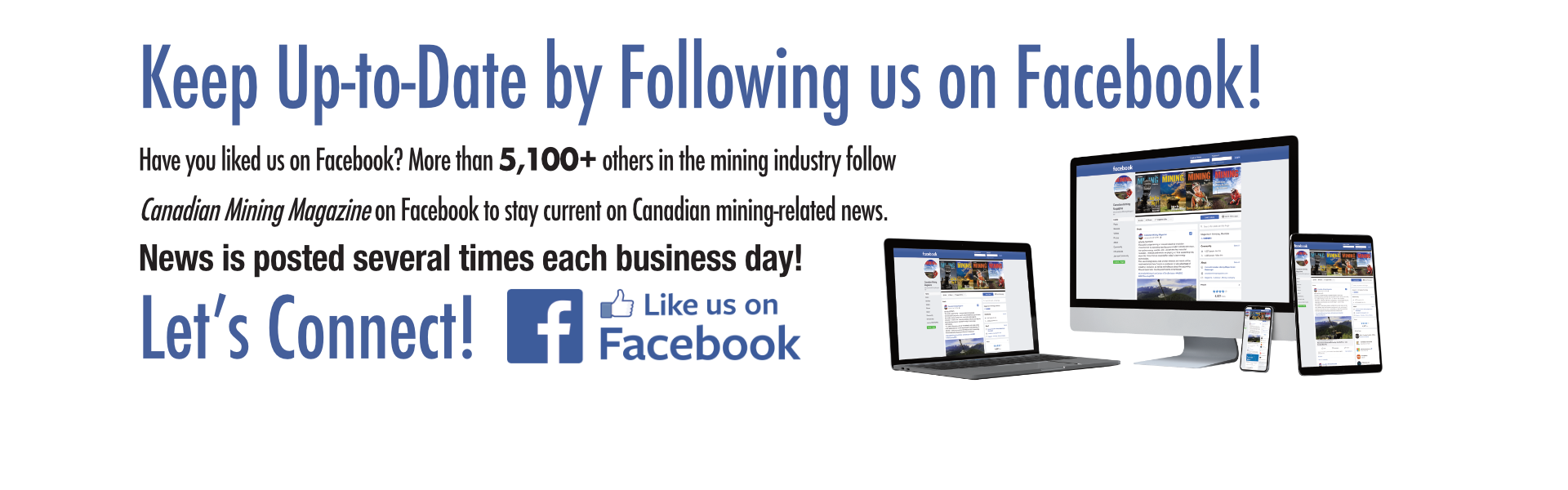 Stay current. Stay connected. Follow us on Facebook!