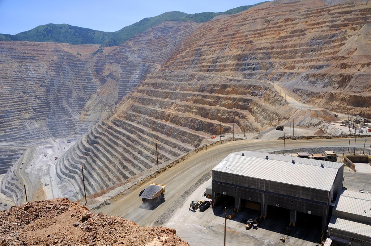 Mining Equipment Maintenance Shop Open-Pit Copper Mine